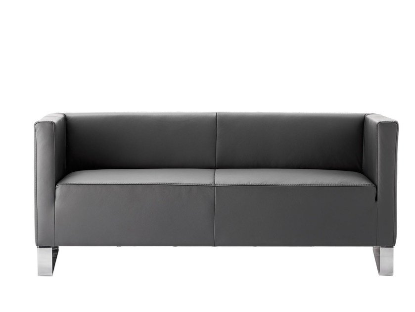 3 seater leather sofa ULTIMO | 3 seater sofa by rosconi