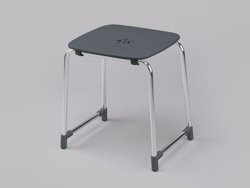 ABS bathroom stool 300 02 | Bathroom stool by Provex Industrie
