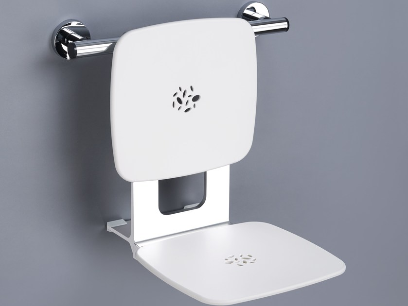 Folding removable ABS shower Seat 3001 EP | Removable shower Seat - Provex Industrie