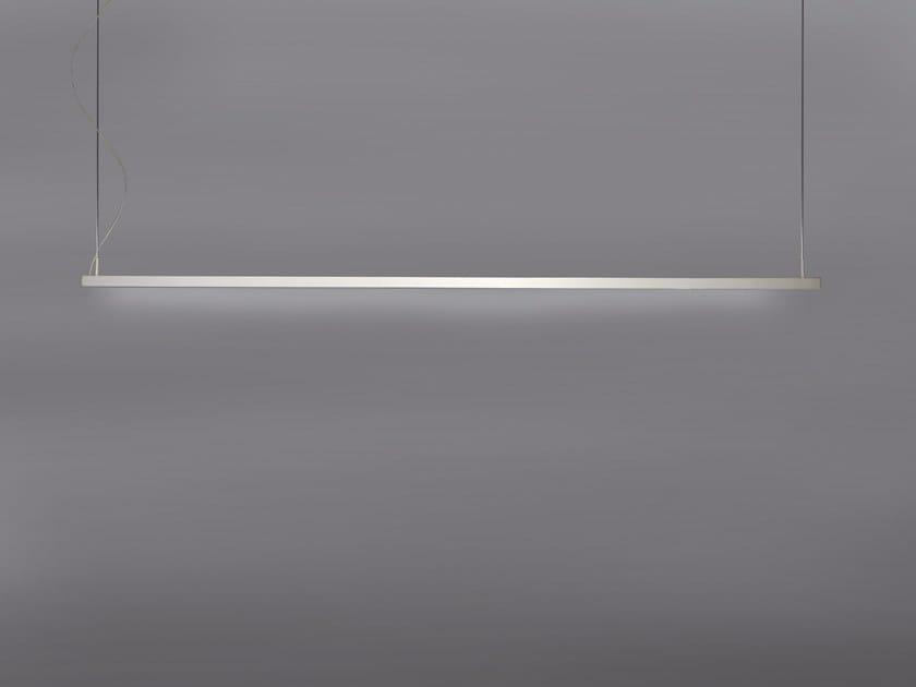 Lampada a sospensione a LED a luce diretta in alluminio 3030 | Lampada a sospensione - GLIP by S.I.L.E