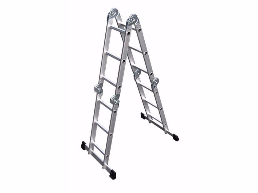 Aluminium heavy duty ladder 3040 - Frigerio Carpenterie