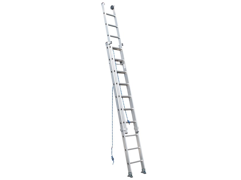 Aluminium heavy duty ladder 3051 - Frigerio Carpenterie