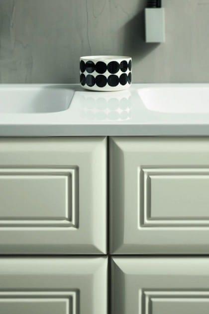 mobile lavabo con armadio con specchio 31 - rab arredobagno - Arredo Bagno Rab