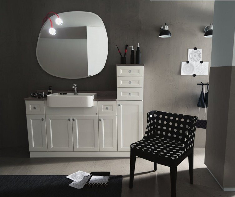 Single vanity unit 33 - RAB Arredobagno