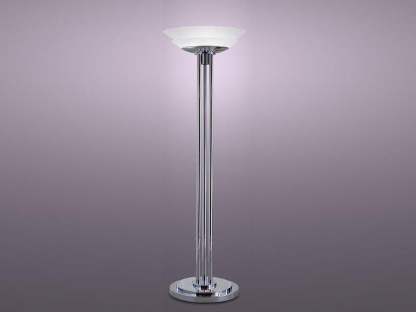 Metal floor lamp with dimmer 34 | Floor lamp - Jean Perzel