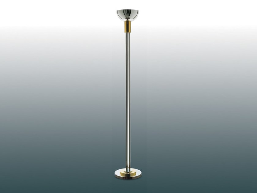Indirect light metal floor lamp with dimmer 35 | Floor lamp by Jean Perzel