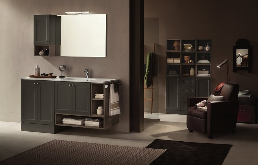 Bathroom furniture set 37 - RAB Arredobagno