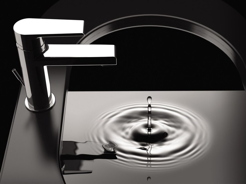 Countertop washbasin mixer with aerator ARTIC 393-AT | Washbasin mixer - Rubinetterie Mariani