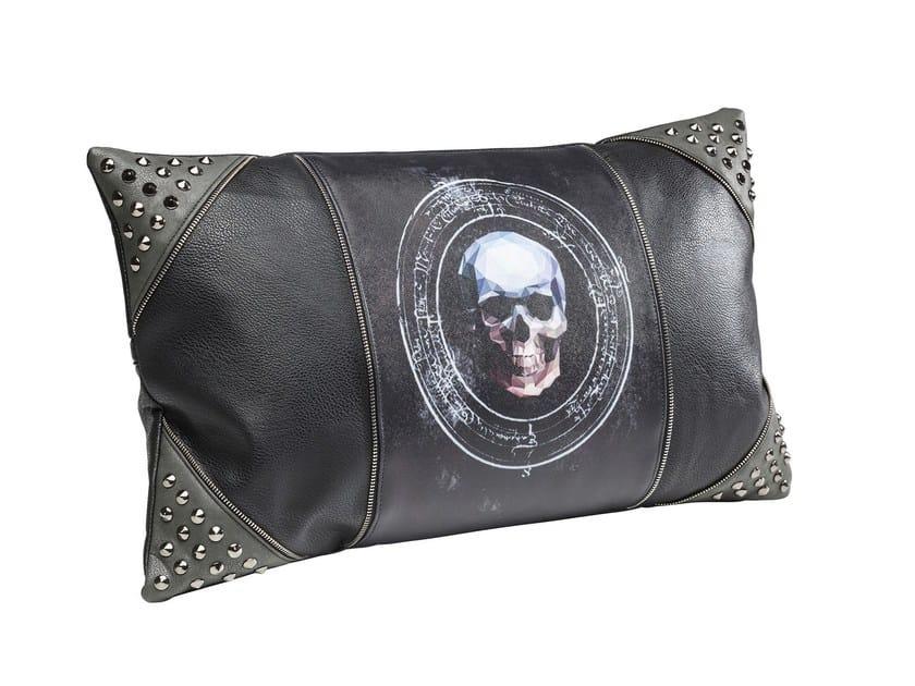 Rectangular cushion 3D SKULL RIVET 30x50 - KARE-DESIGN