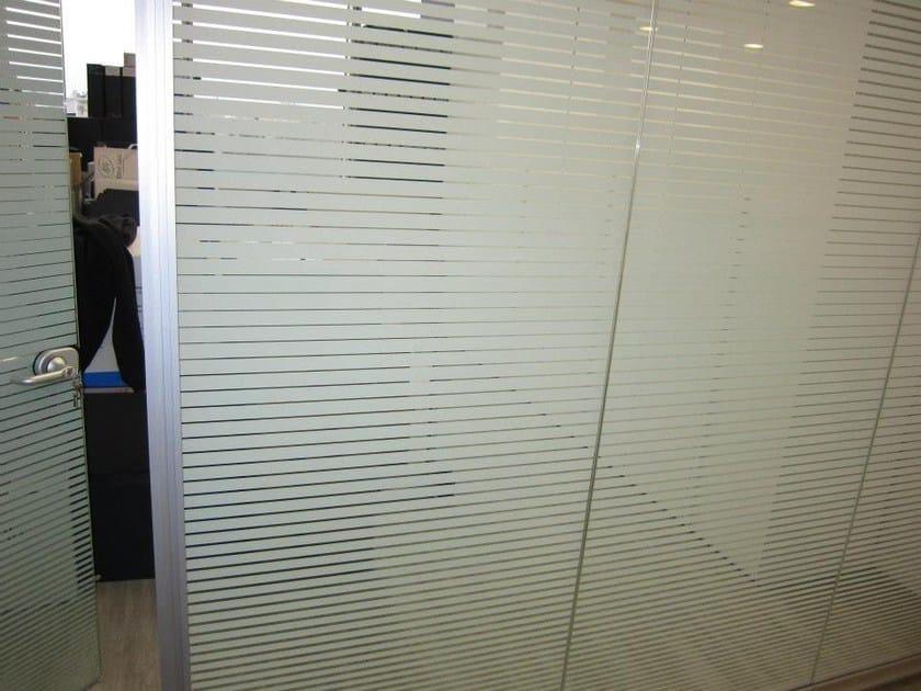 Pellicola per vetri antigraffio autoadesiva decorativa 3M FASARA  Pellicola per vetri ...
