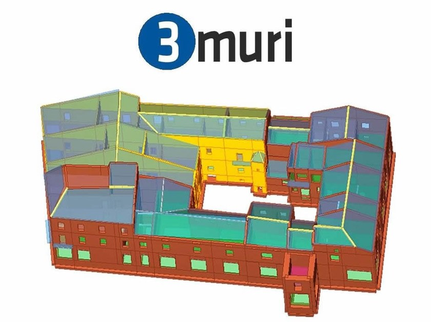 Masonry and mixed construction calculation 3Muri Smart by S.T.A. DATA