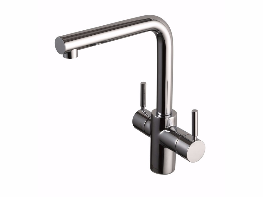 1 hole brass kitchen mixer tap 3N1 - InSinkErator