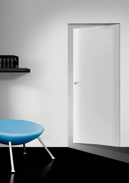 Flush-fitting honeycomb door with concealed hinges 4.1 - RES