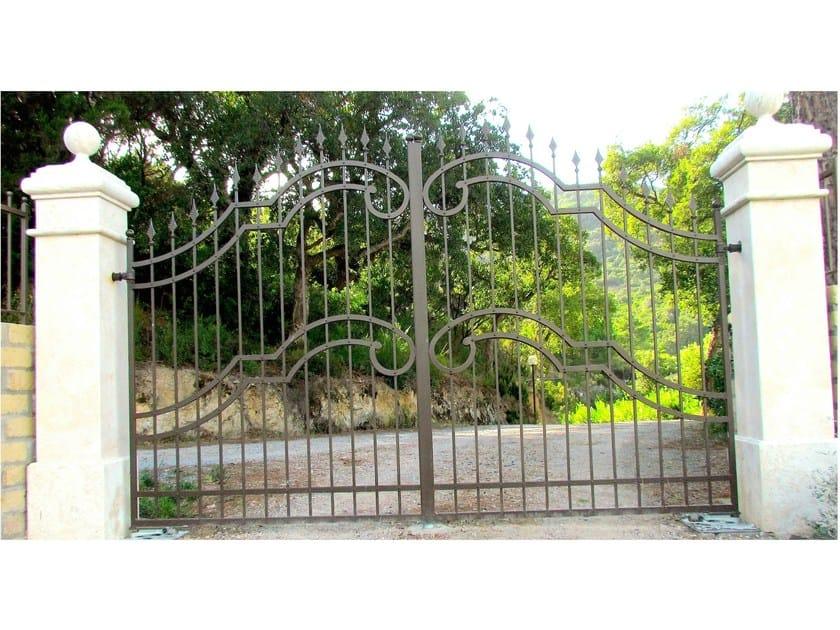 Iron gate Wrought iron gate 4 - Garden House Lazzerini