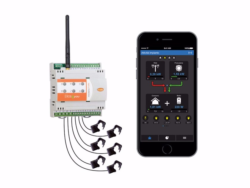 Monitoring system for photovoltaic system 4-noks Elios4you Pro by ASTREL GROUP