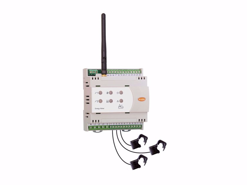 Monitoring system for photovoltaic system 4-noks Energy Meter 3~ RC by ASTREL GROUP