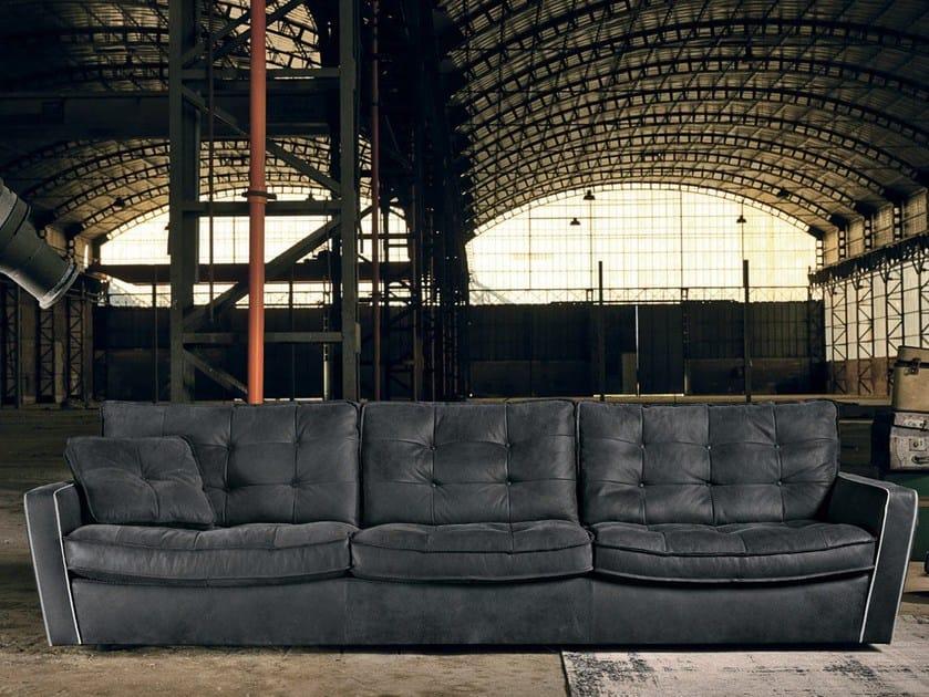 Tufted 4 seater sofa DIVA   4 seater sofa - Max Divani