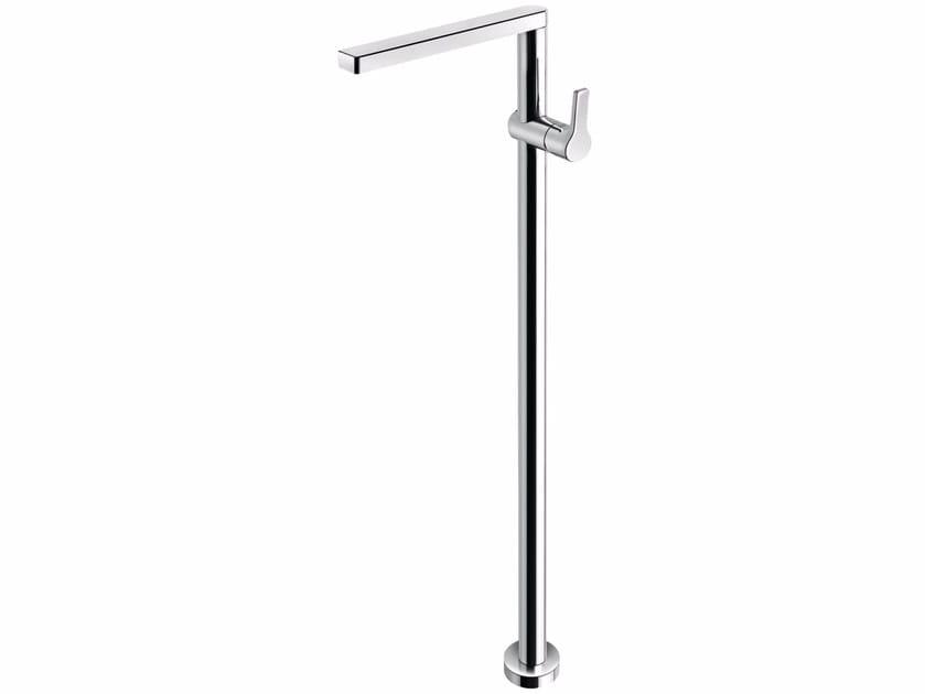 Floor standing washbasin mixer without waste HANDY 42 - 4213008 - Fir Italia