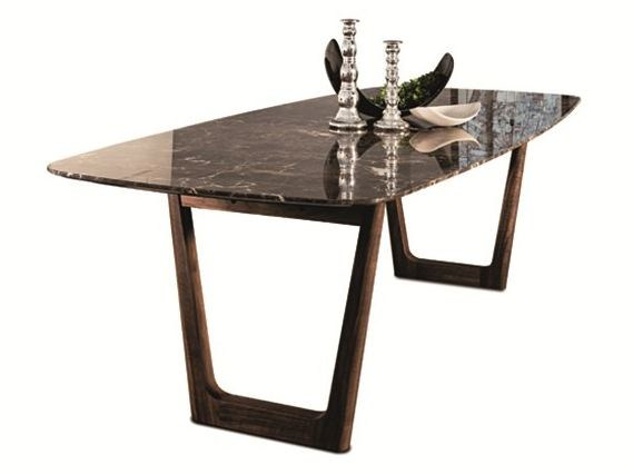 Marble dining table 430 OPERA | Table - Vibieffe