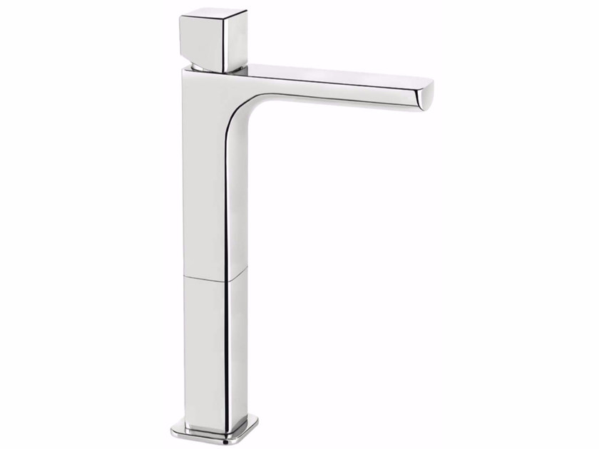 Countertop single handle washbasin mixer without waste DAILY CUBE 45 - 4511400 - Fir Italia