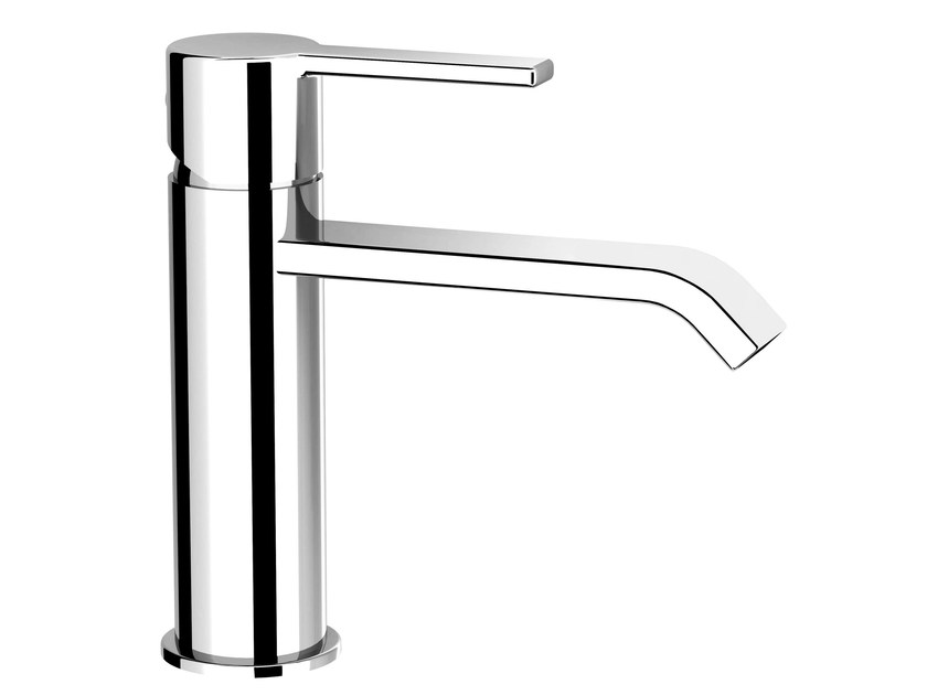 Countertop single handle washbasin mixer without waste SWEET 46 - 4611310 - Fir Italia