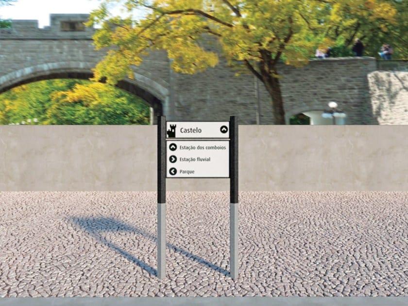 Segnale stradale in metallo 4CITY | Segnale stradale - SIT