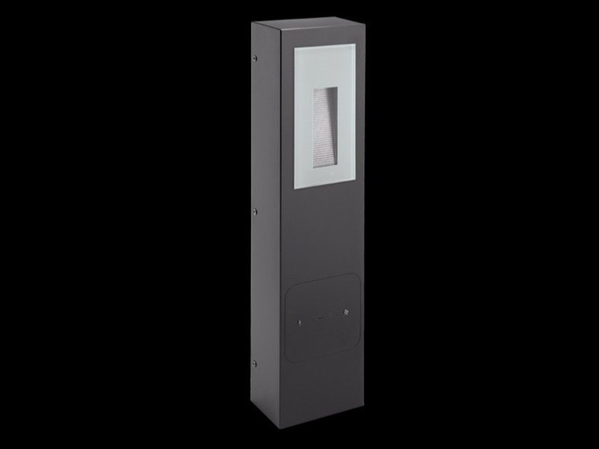 LED technopolymer bollard light KIT-02 STILE NEXT POST - Lombardo