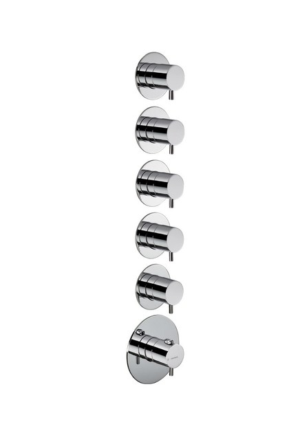 Thermostatic thermostatic shower mixer 5-WAY OUT THERMOSTATIC SELECTORS   Thermostatic shower mixer - NEWFORM