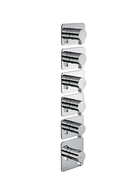 Thermostatic thermostatic shower mixer 5-WAY OUT THERMOSTATIC SELECTORS | Thermostatic shower mixer - NEWFORM