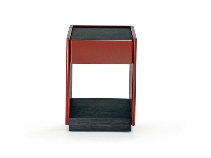 Wooden bedside table with drawers 5050 | Bedside table with drawers - MOLTENI & C.
