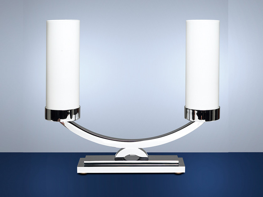 Direct light handmade table lamp 520 | Table lamp by Jean Perzel