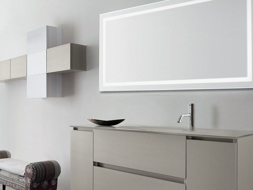 Single vanity unit with drawers 53 - RAB Arredobagno