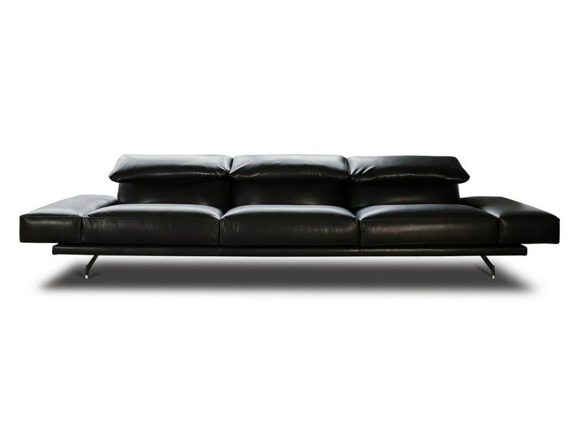 Leather sofa 550 ALTOPIANO | Leather sofa - Vibieffe