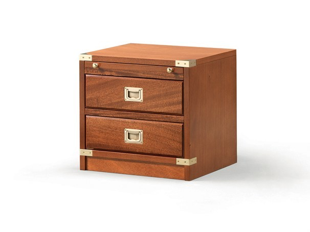 Wooden bedside table with drawers 553 | Bedside table with drawers - Caroti
