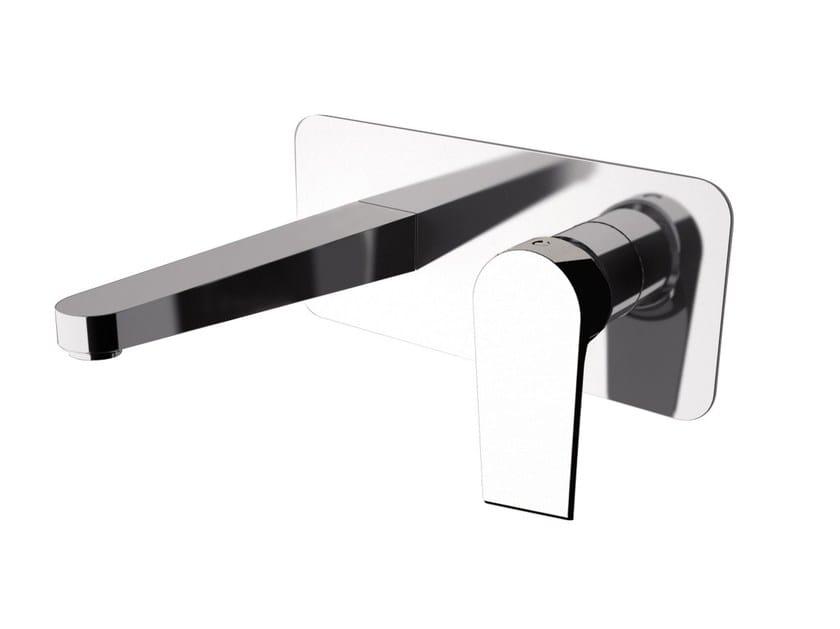 Wall-mounted washbasin mixer with aerator ARTIC 565-AT   Wall-mounted washbasin mixer - Rubinetterie Mariani