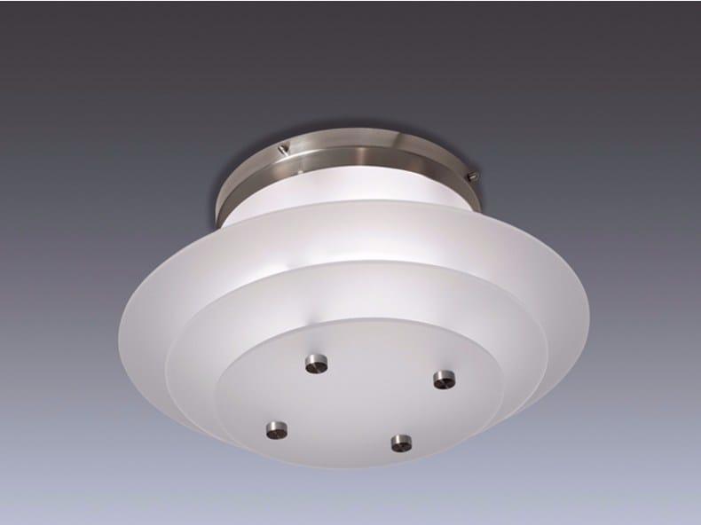 Direct light glass ceiling light 58 | Ceiling light - Jean Perzel
