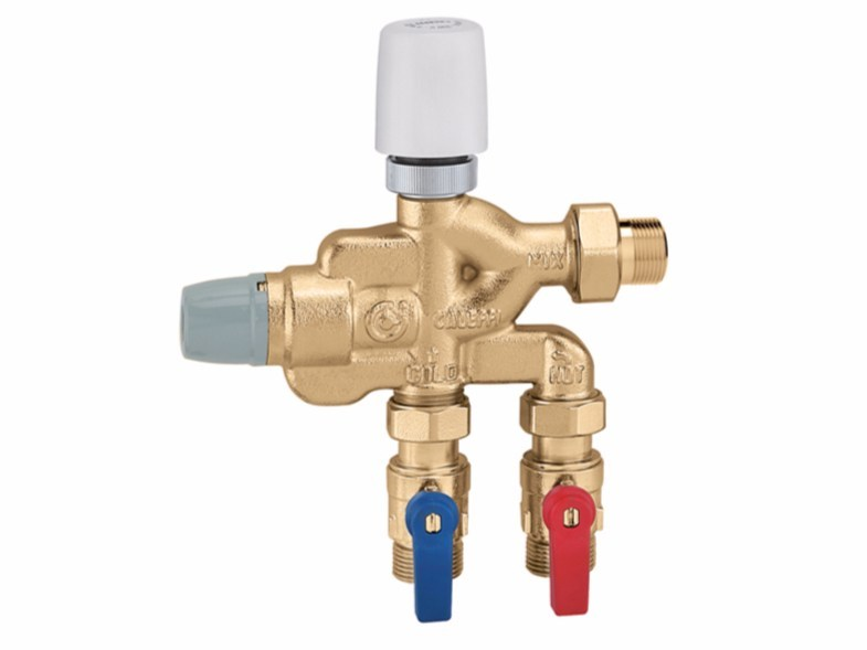Multi-function compact unit for domestic water system 6005 LEGIOFLOW® - art. 600502 - CALEFFI