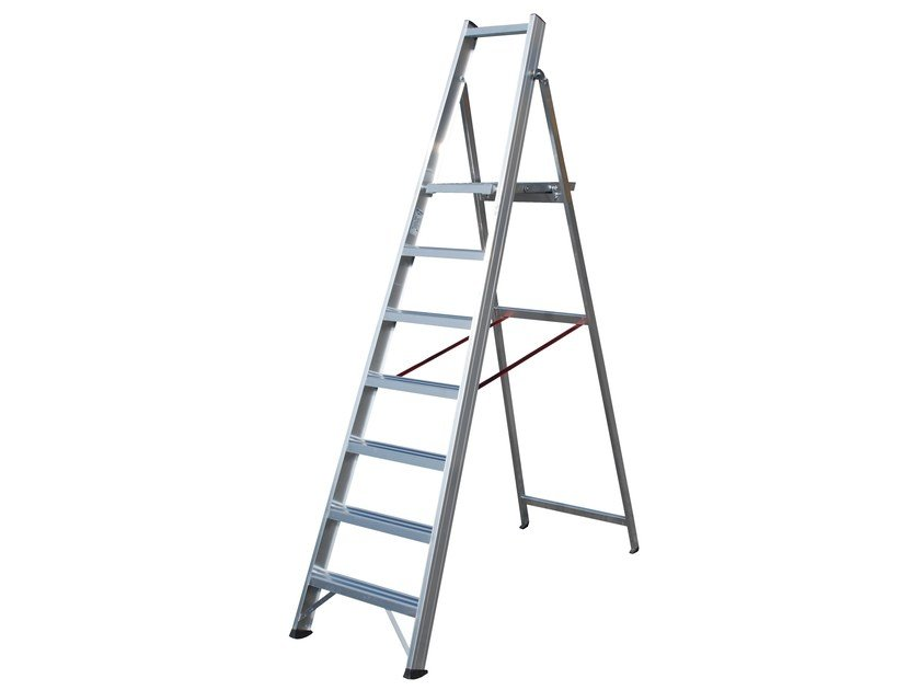 Aluminium heavy duty ladder 6020 - Frigerio Carpenterie