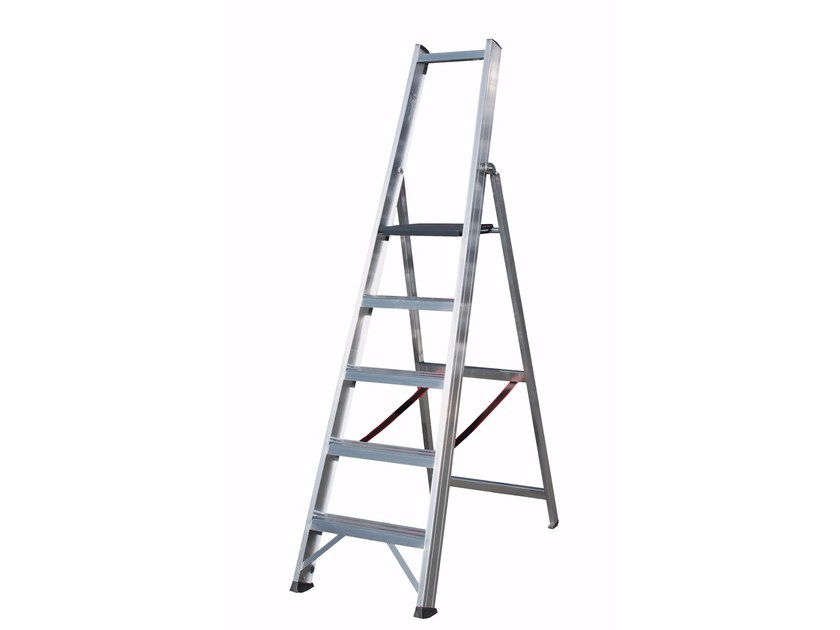 Aluminium heavy duty ladder 6026 - Frigerio Carpenterie
