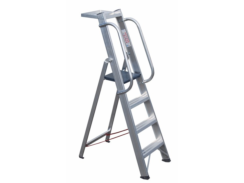Aluminium heavy duty ladder 6036 - Frigerio Carpenterie