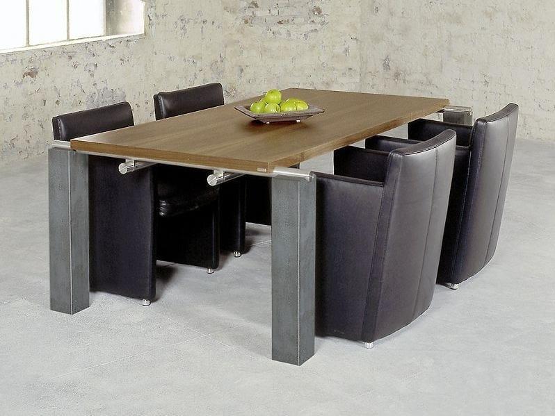 Rectangular wooden table 604   Table by Wissmann raumobjekte