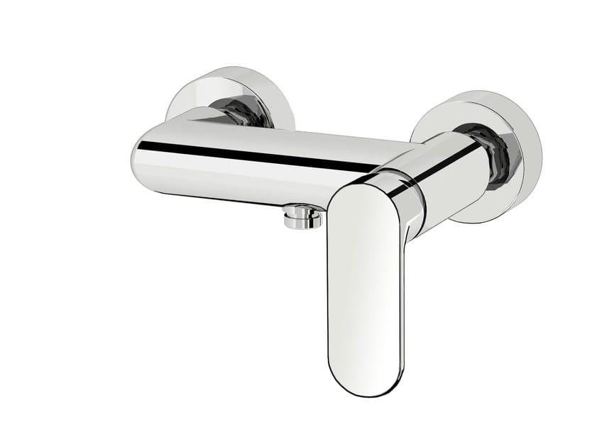 Miscelatore per doccia a 2 fori in ottone cromato SMILE 64  - 6454050 by Fir Italia