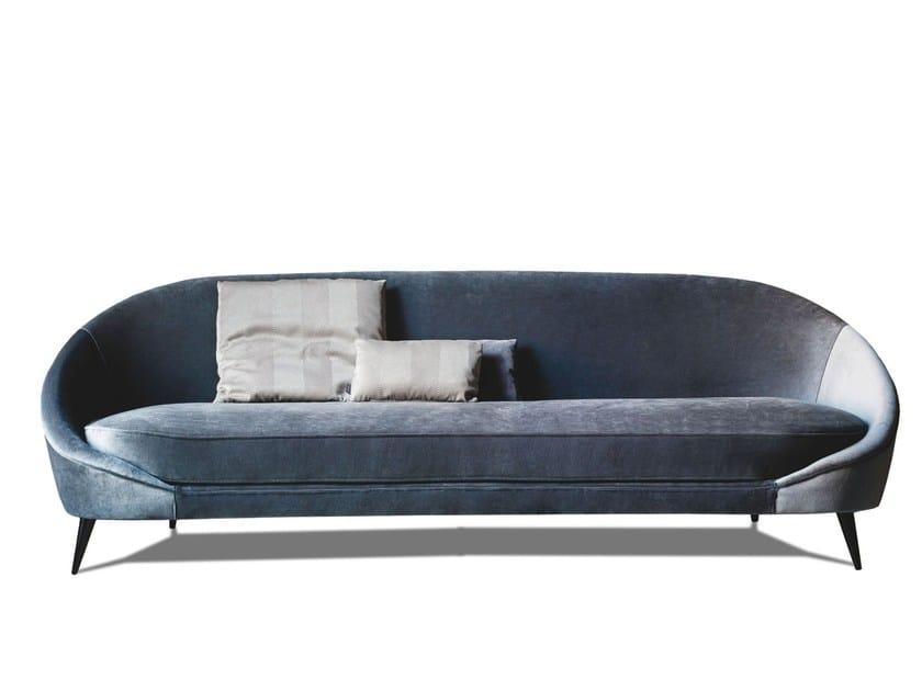 3 seater fabric sofa 650 NIDO | Fabric sofa by Vibieffe