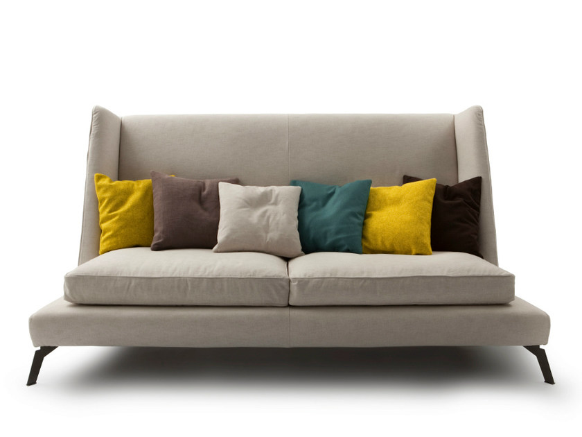 High-back fabric sofa 680 CLASS | High-back sofa - Vibieffe