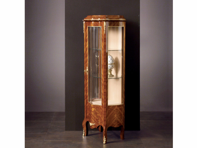 Wooden display cabinet 69   Display cabinet - Rozzoni Mobili d'Arte
