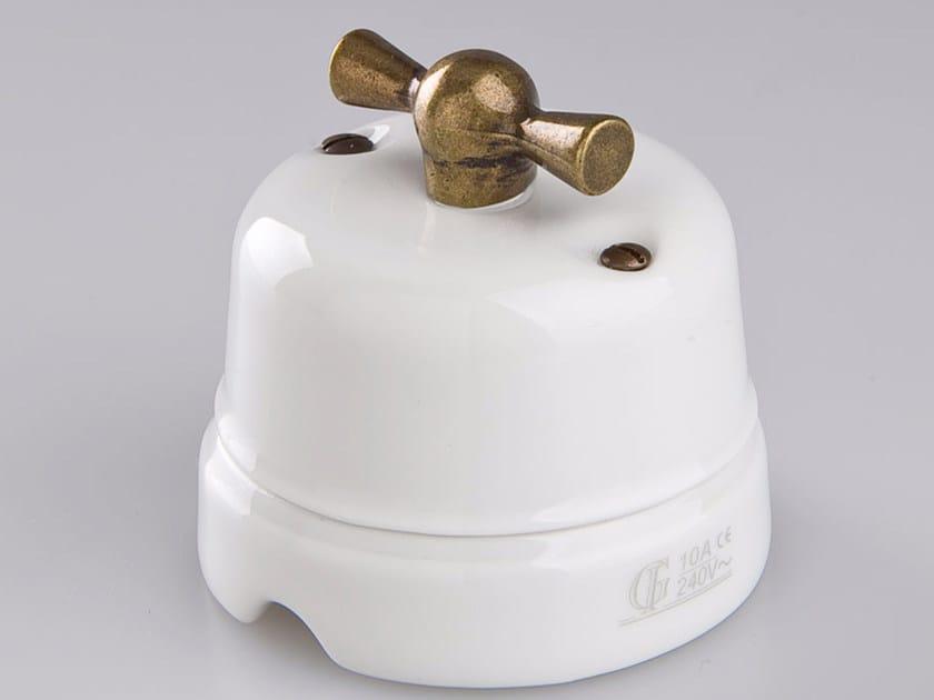 Electrical socket WHITE ITALY - 7 - GI Gambarelli
