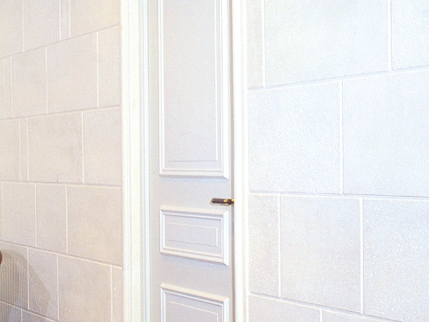 Fireproof indoor gypsum wall tiles with stone effect 7049 - Staff Décor