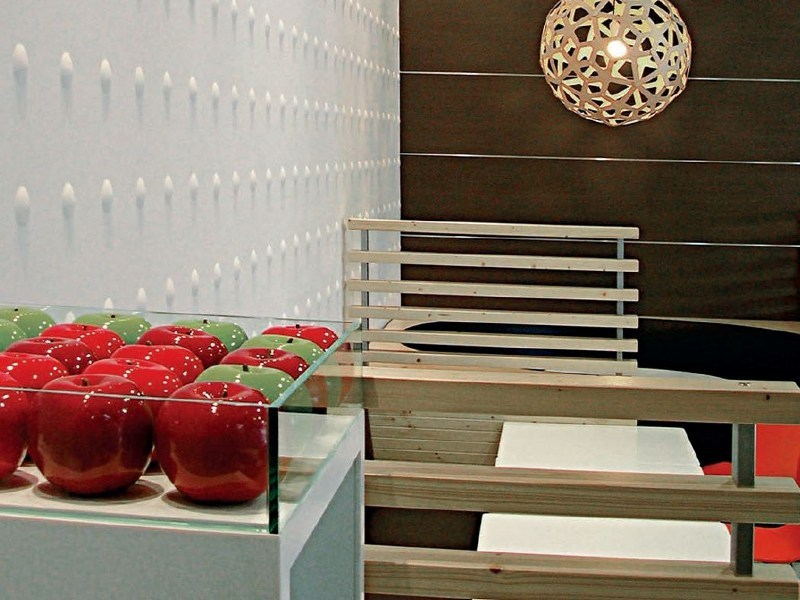 Indoor gypsum wall tiles 7070 «BULLES» - Staff Décor