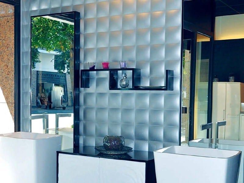 Modular indoor gypsum 3D Wall Panel 7072 «CAPITONS» - Staff Décor