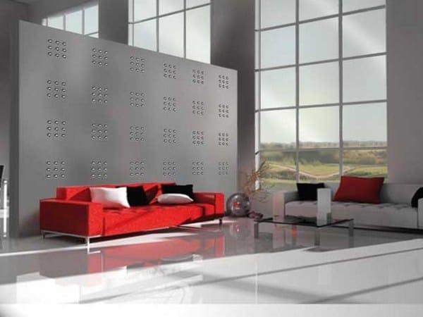 Indoor gypsum wall tiles 7073 «MACARONS» - Staff Décor